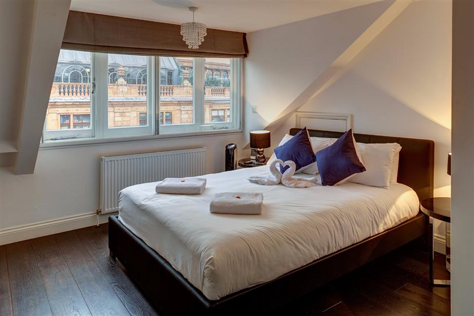 Knightsbridge Serviced Apartment Bedroom