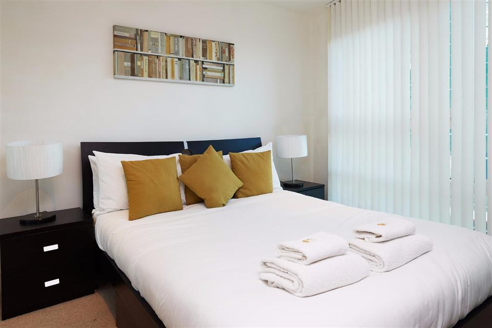 Albert Serviced Apartments Bedroom