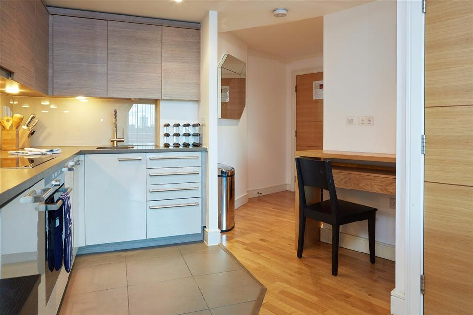 Albert Serviced Apartments Kitchen
