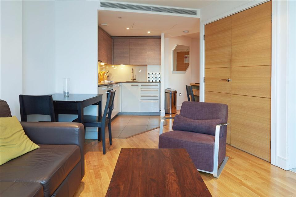 Albert Serviced Apartments Living Area