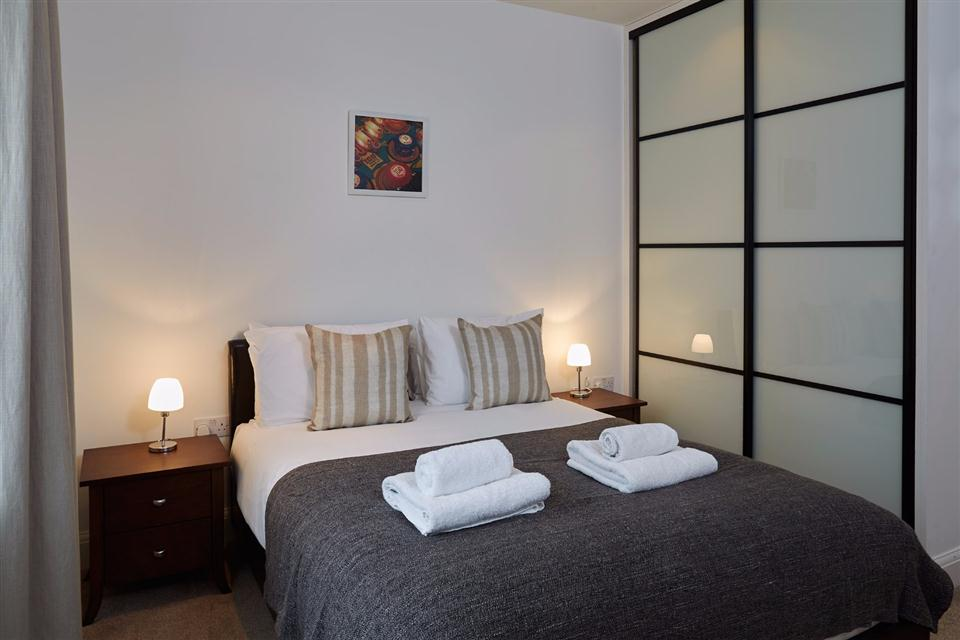 Vauxhall Serviced Apartments Bedroom