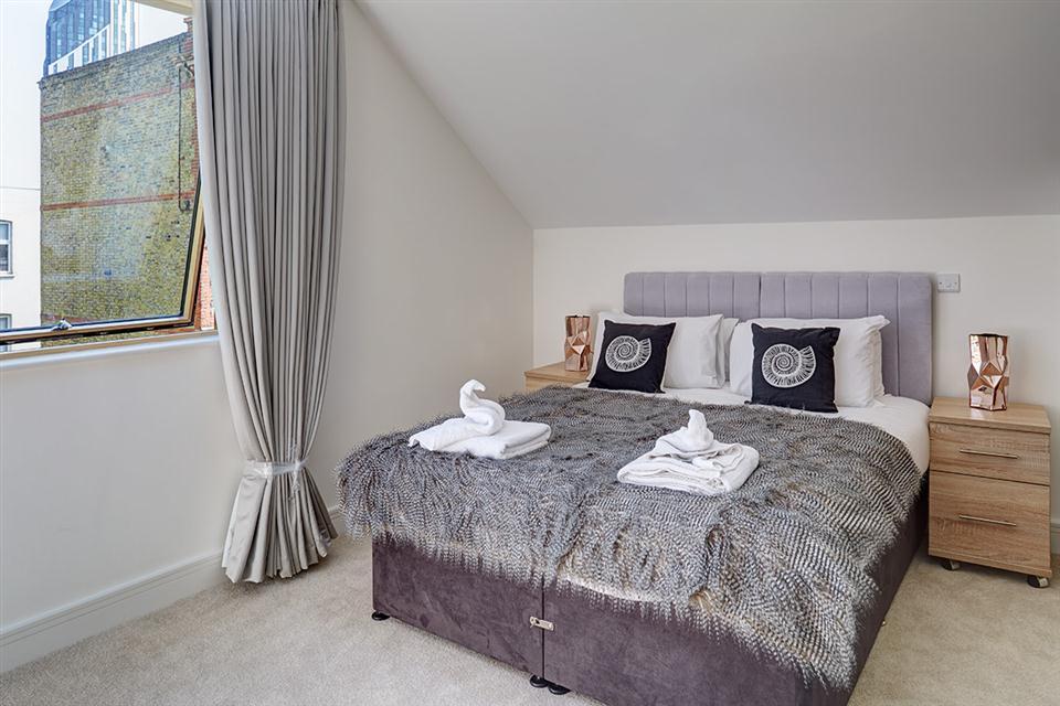 Lambeth North Serviced Apartments Bedroom