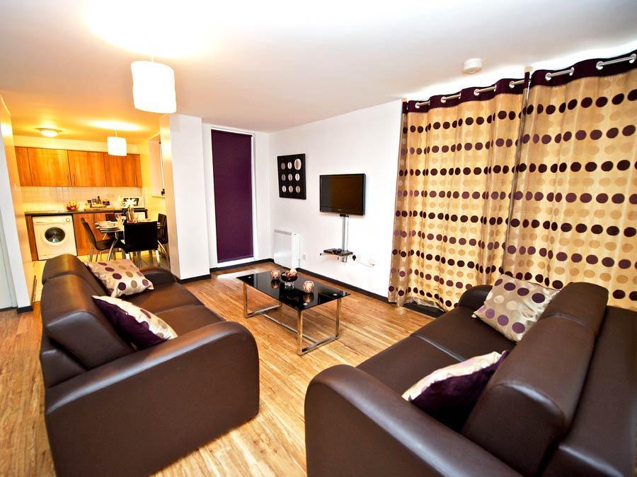 Millennium Walk Apartments - Living Area