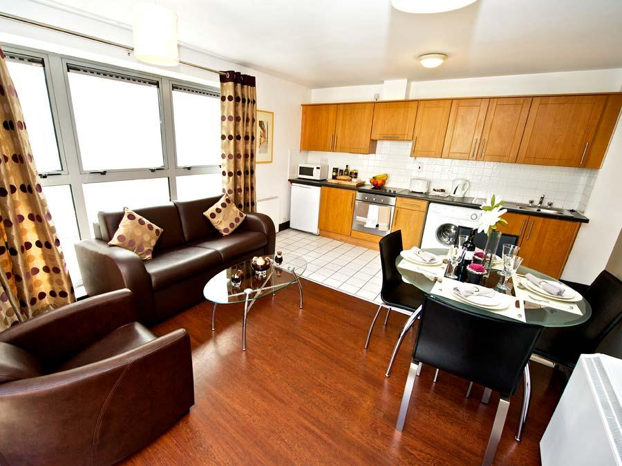 Millennium Walk Apartments - Living and Dining Area