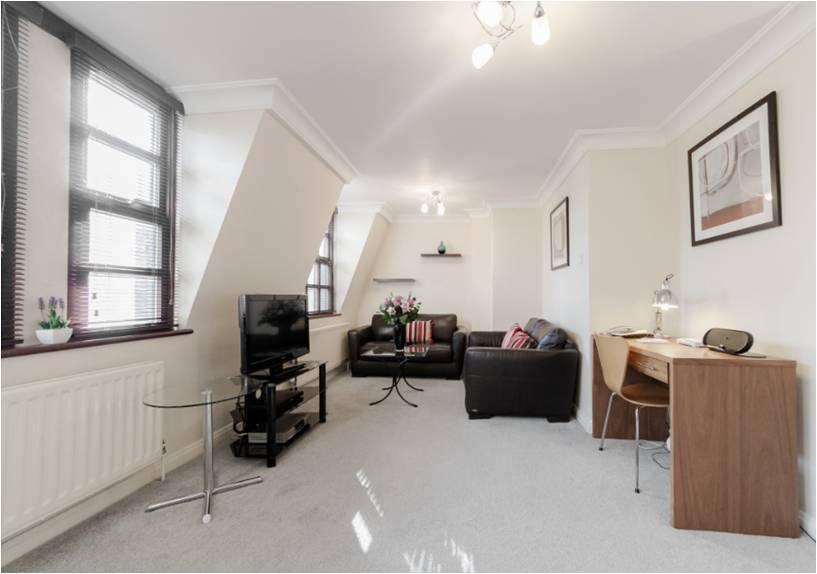 Howard House Apartments Marylebone - Living Area