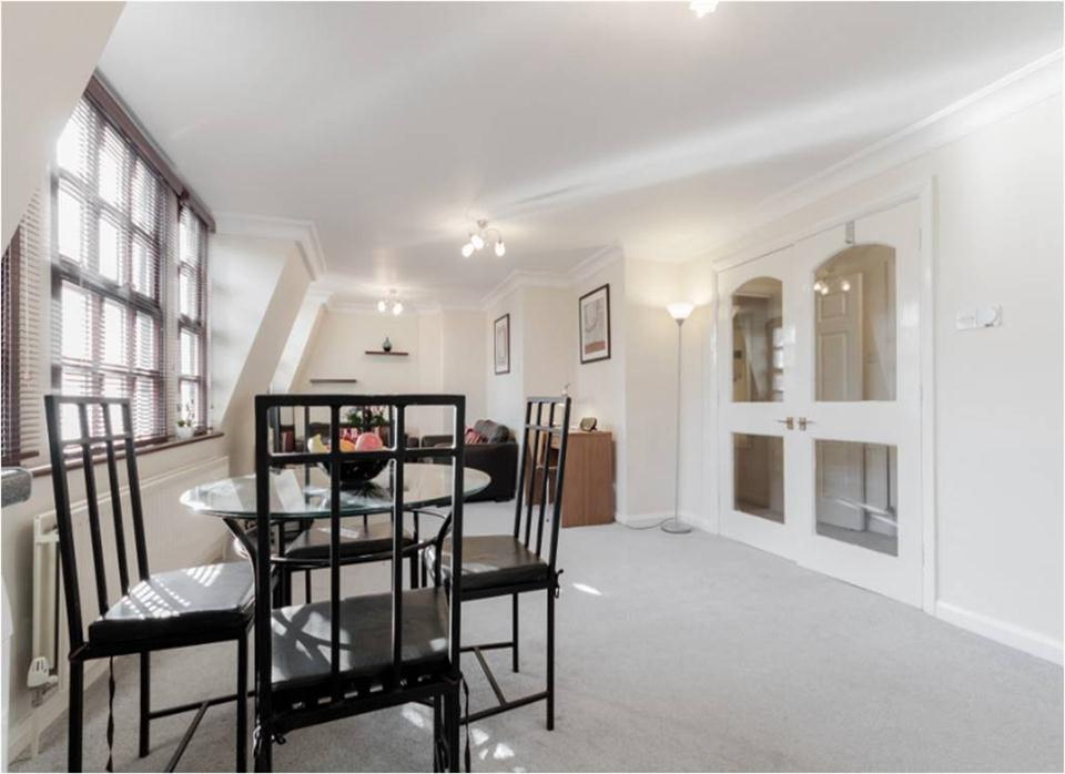 Howard House Apartments Marylebone - Living Dining Area