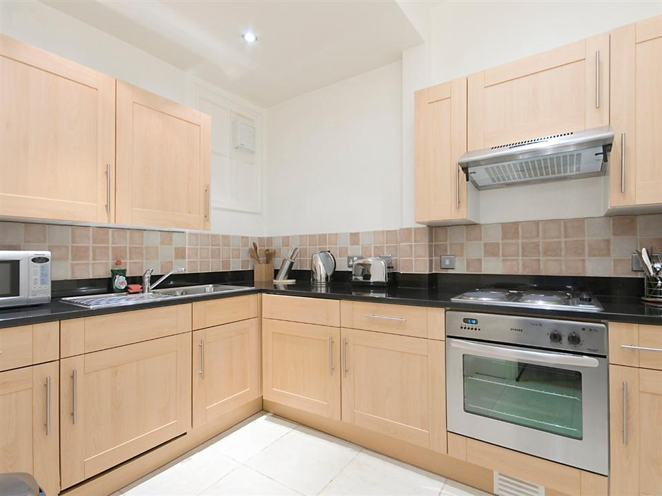 17 Hertford Street One Bedroom Deluxe Apartment - Kitchen