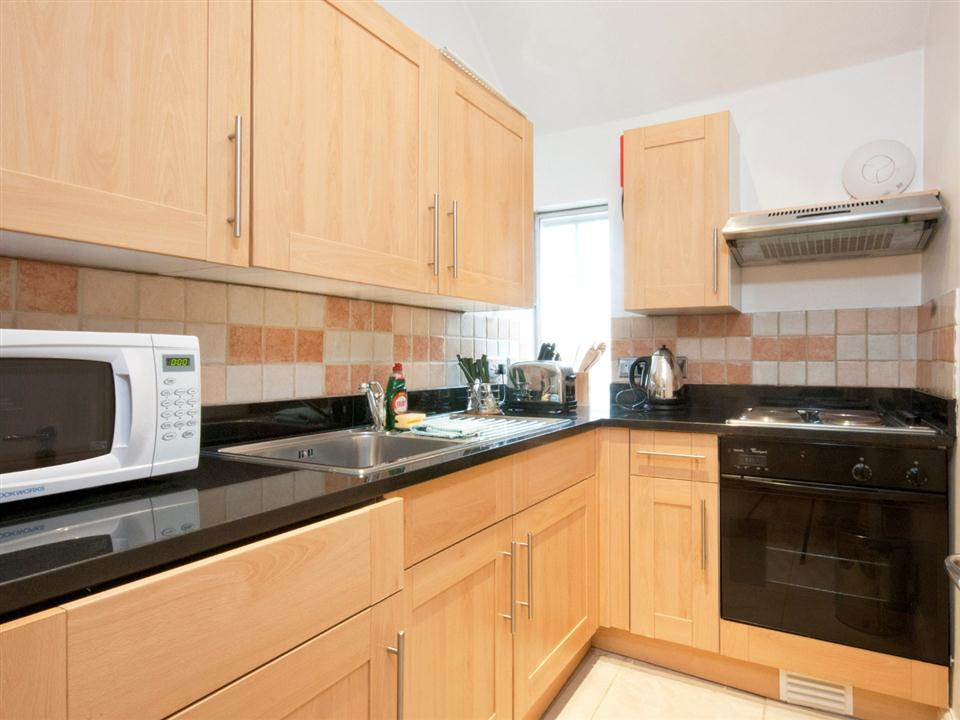 17 Hertford Street One Bedroom Standard Apartment - Kitchen