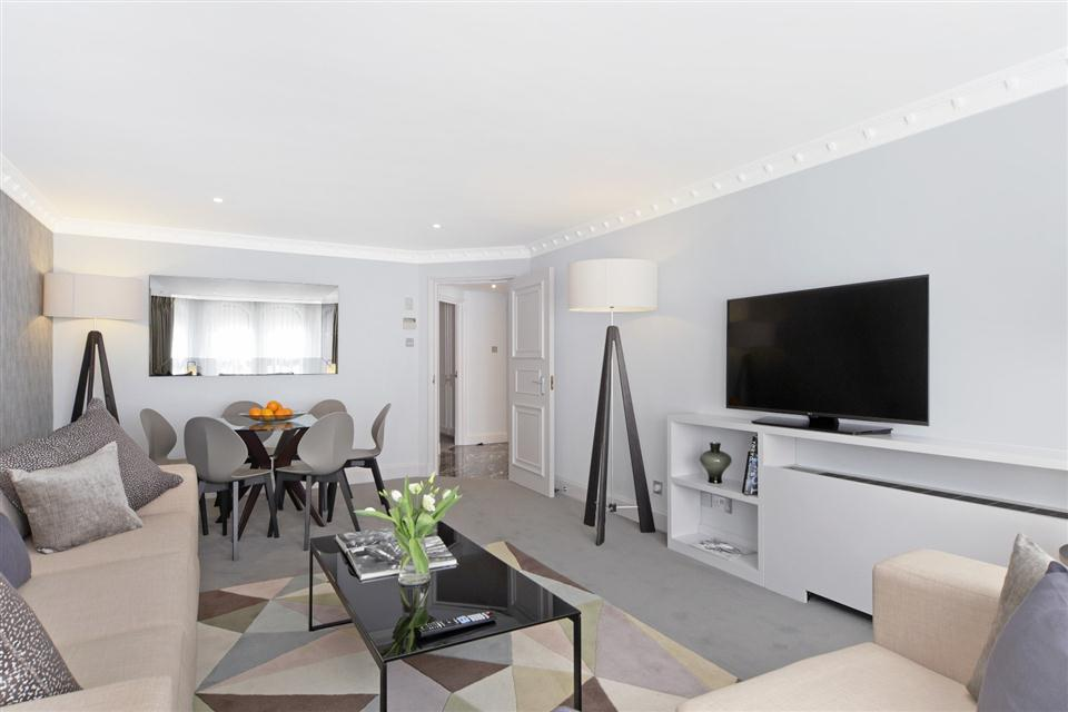 Mayfair House Executive Two Bedroom Apartment - Living Room