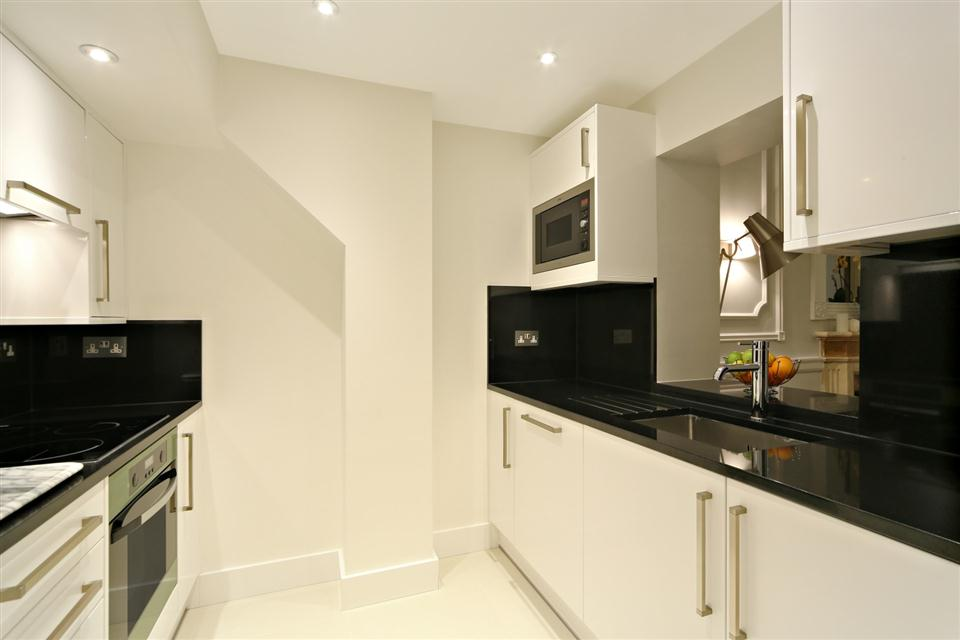 Queensgate Court Studio Deluxe Apartment - Kitchen