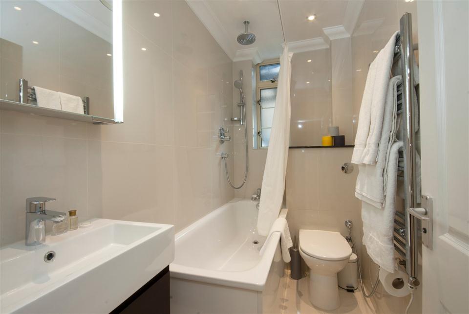 Fountain House One Bedroom Apartment - Bathroom