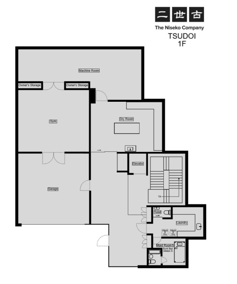 #floorplans Tsudoi 1st floor