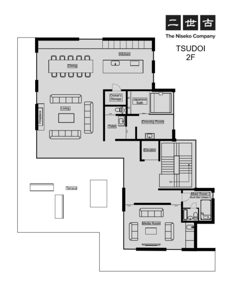 #floorplans Tsudoi 2nd Floor