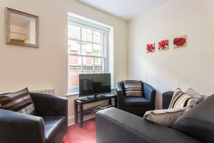 Artillery Lane Serviced Apartments - Living Room