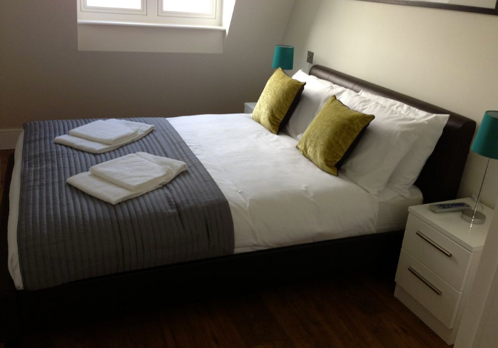 Apple Apartments London Limehouse Bedroom