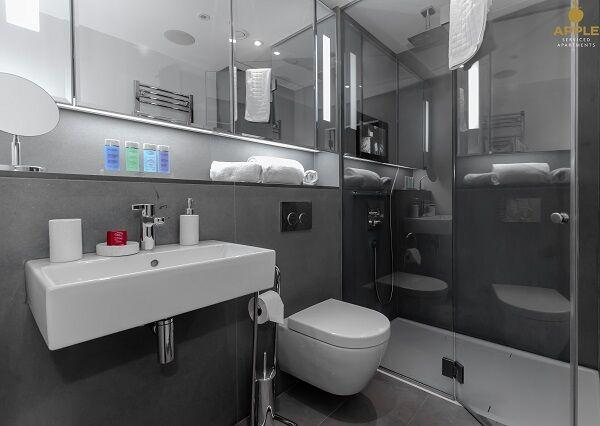 Apple Apartments Strand Bathroom