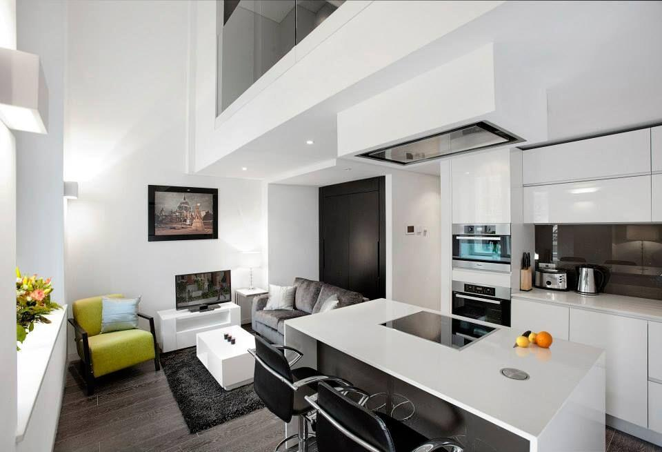 Apple Apartments Strand Living Area