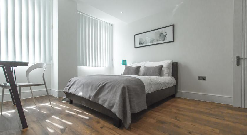 Apple Apartments Limehouse Bedroom