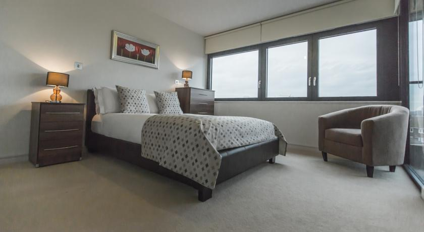 Apple Apartments Paddington Central Bedroom