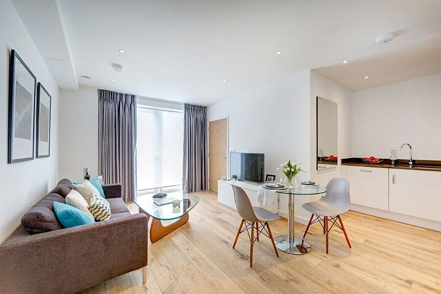 Apple Apartments Greenwich O2 Arena Living Area