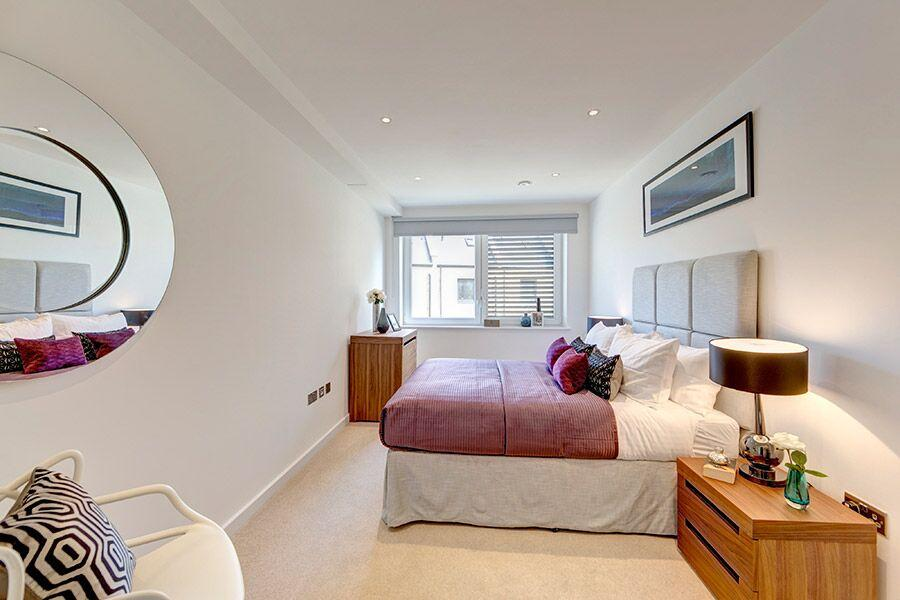 Apple Apartments Greenwich O2 Arena Bedroom