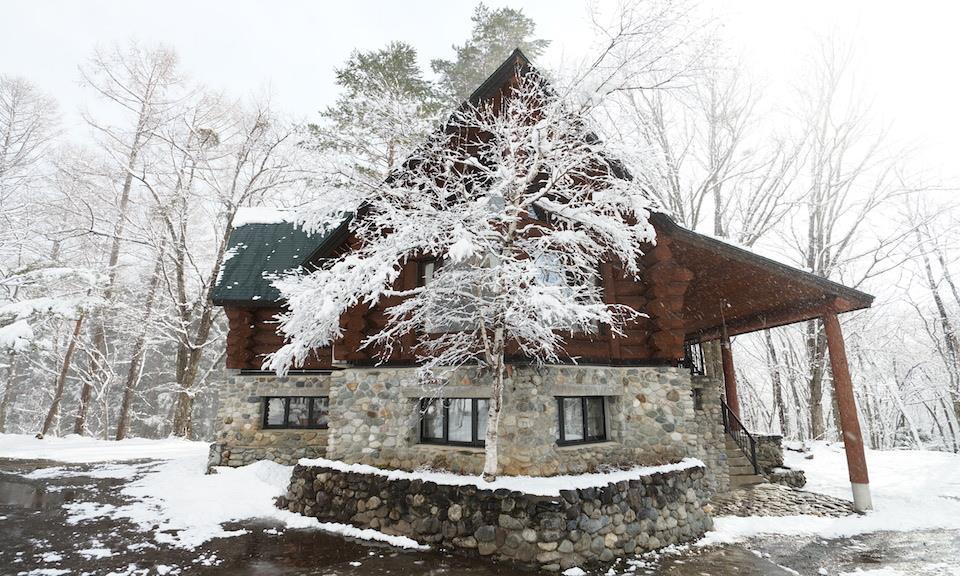 Hakuba Accommodation Canadian Lodge 3 Log House