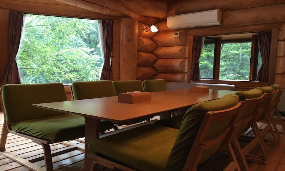 Hakuba Accommodation Canadian Lodge 5 Log House