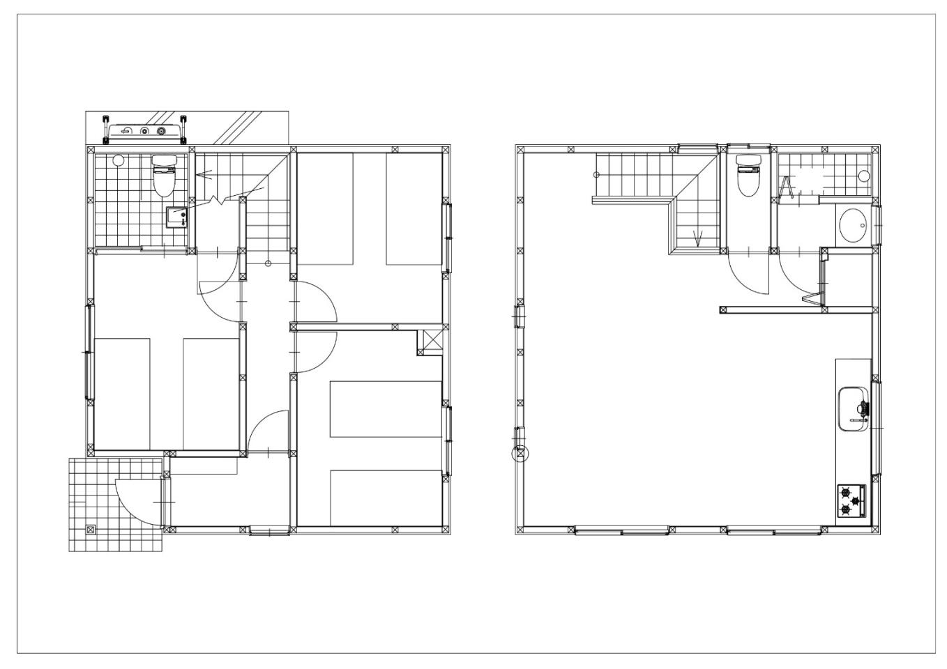 #floorplans 3 Bedroom A & B Chalets