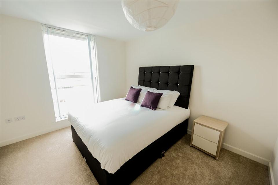 Apple Apartments Belfast Bedroom
