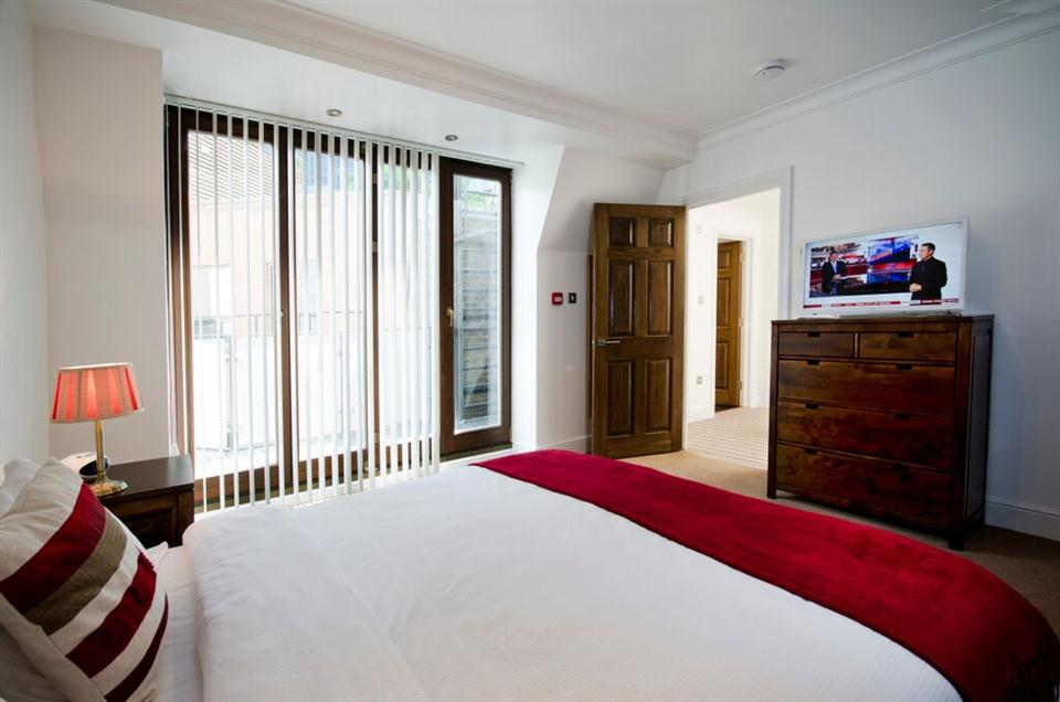 48 Bishopsgate Apartments Bedroom