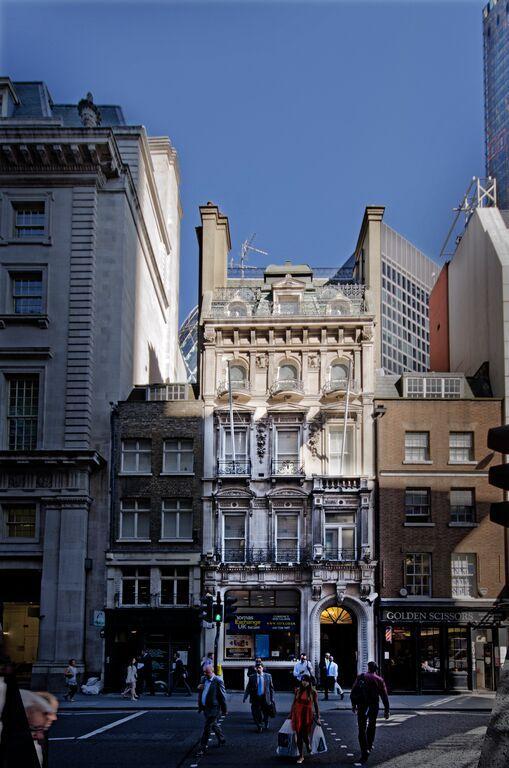 48 Bishopsgate Apartments Exterior