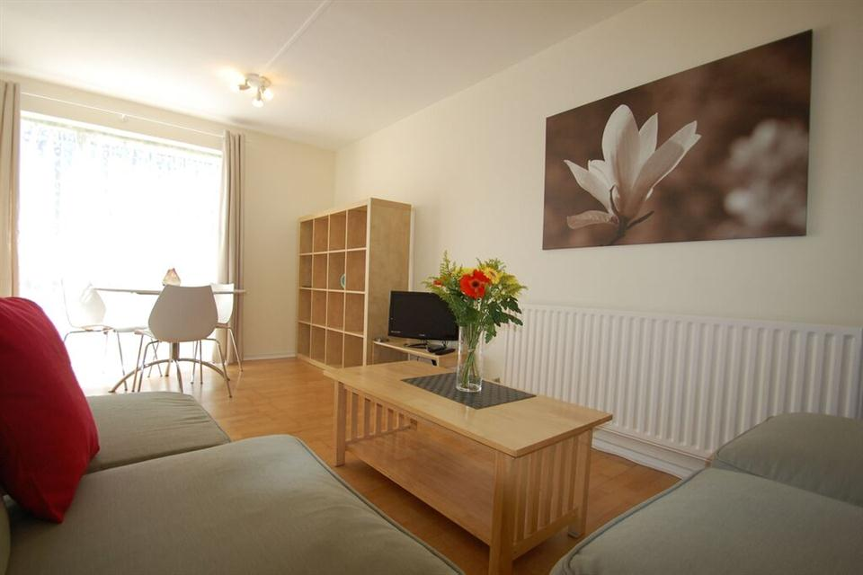 The Chiswick Apartment Living and Dining Area