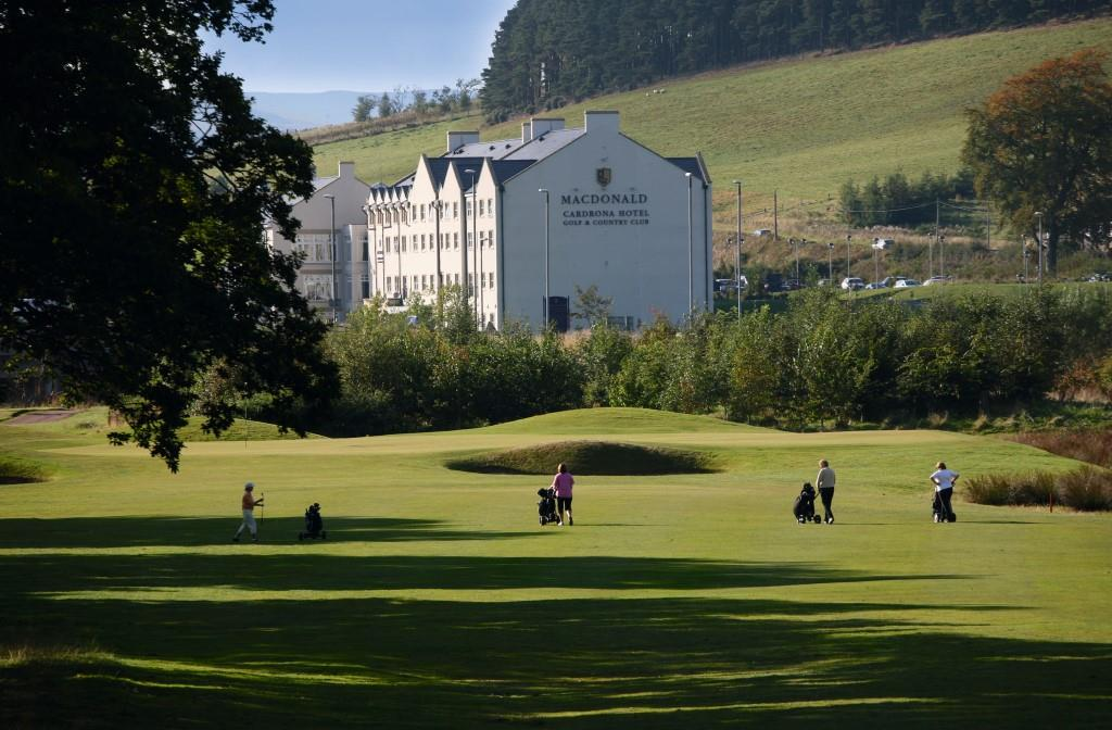 Macdonald Cardrona Hotel, Golf & Spa 4* - 1 Night Dinner Bed & Breakfast, 2 Rounds