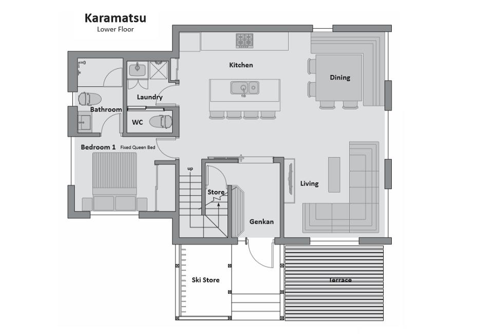 #floorplans Karamatsu Lower Floor