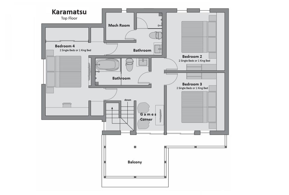 #floorplans Karamatsu Top Floor