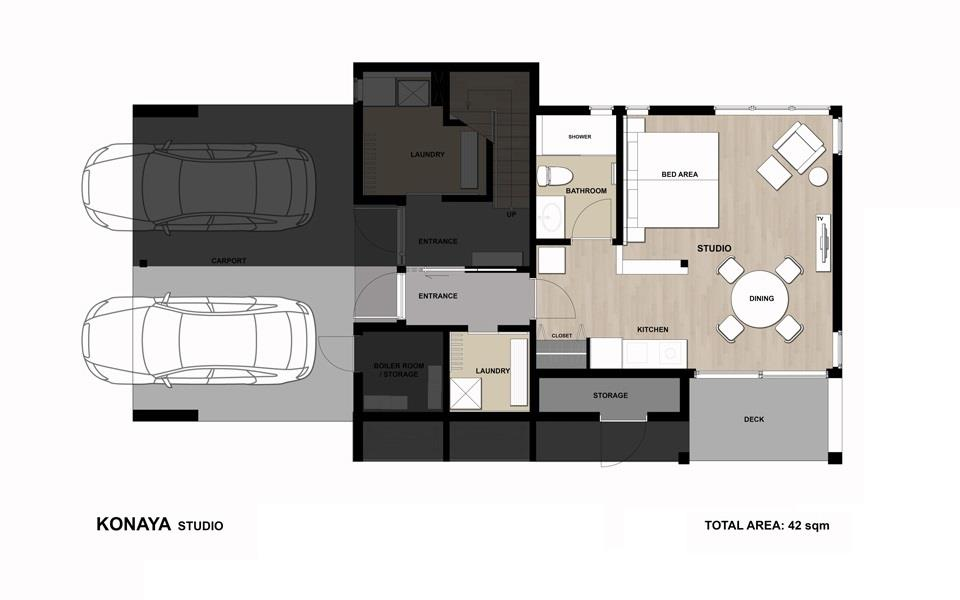 #floorplans Konaya Studio