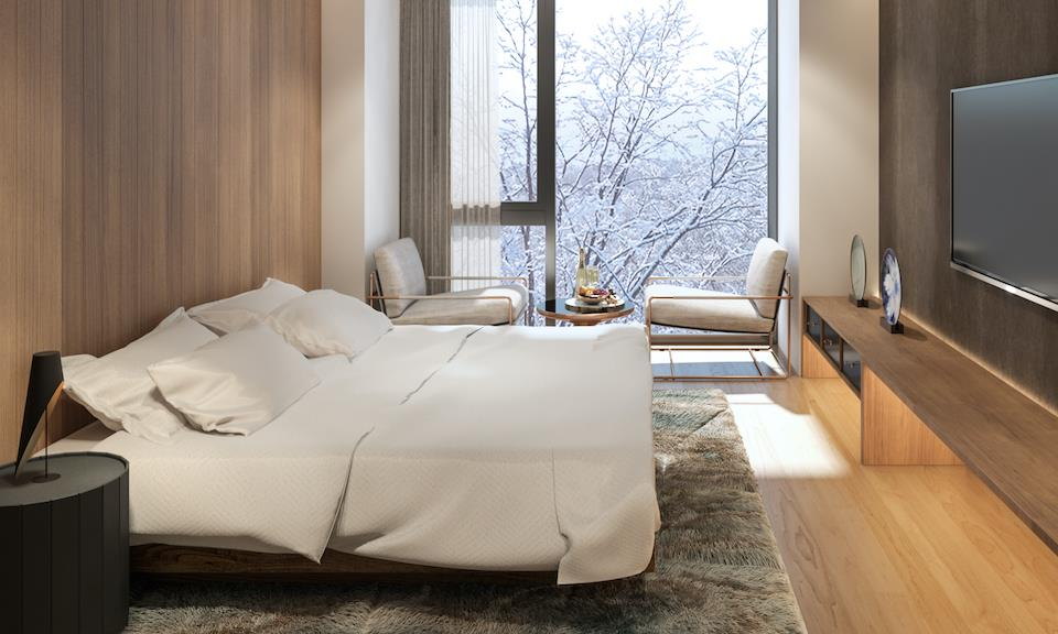 Niseko Accommodation Intuition 7-Studio Room and Standard Bedroom