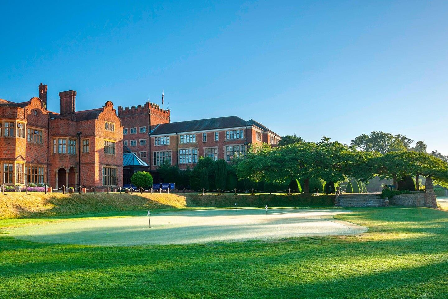 Hanbury Manor Marriott Hotel & Country Club 5*  - 1 Night Dinner Bed & Breakfast, 2 Rounds