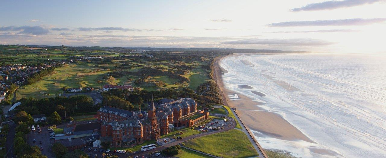 Slieve Donard Resort & Spa - 1 Night Bed & Breakfast, 1 Round (Championship Links Royal County Down)