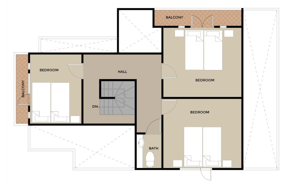 #floorplans HT House 2nd floor