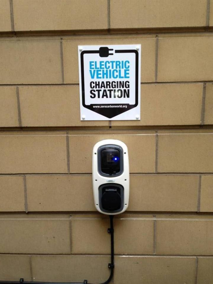 The Knight Residence Electric Charging Station