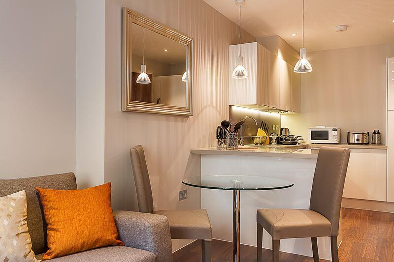 Lovat Lane - Kitchen and Living Area