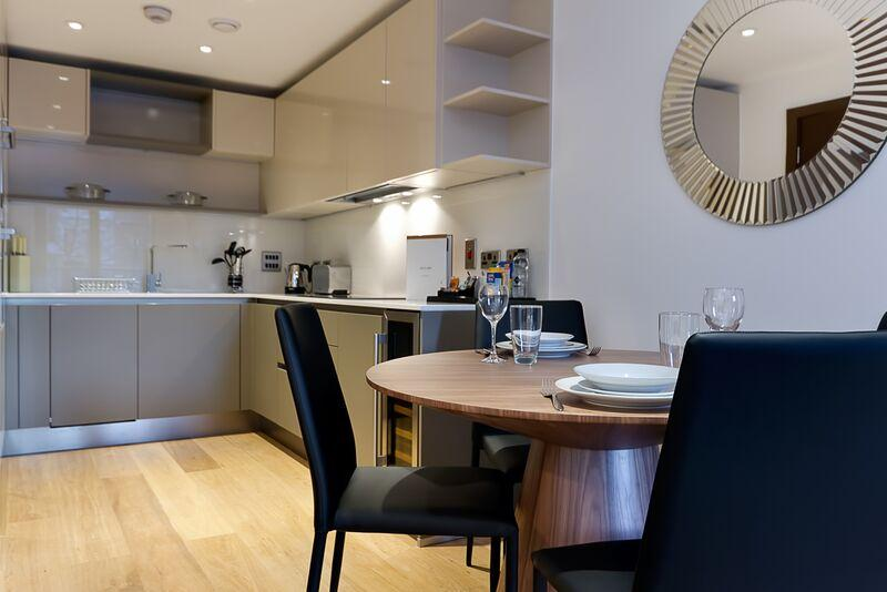 St Dunstan's Court -  Kitchen and Dining Area