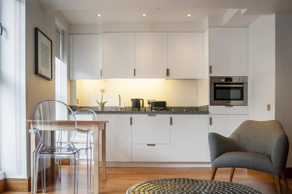 Tower Hill Open Premium Studio Apartment - Kitchen