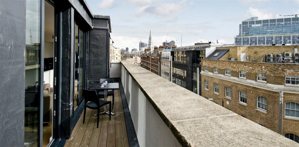 Shoreditch - Balcony