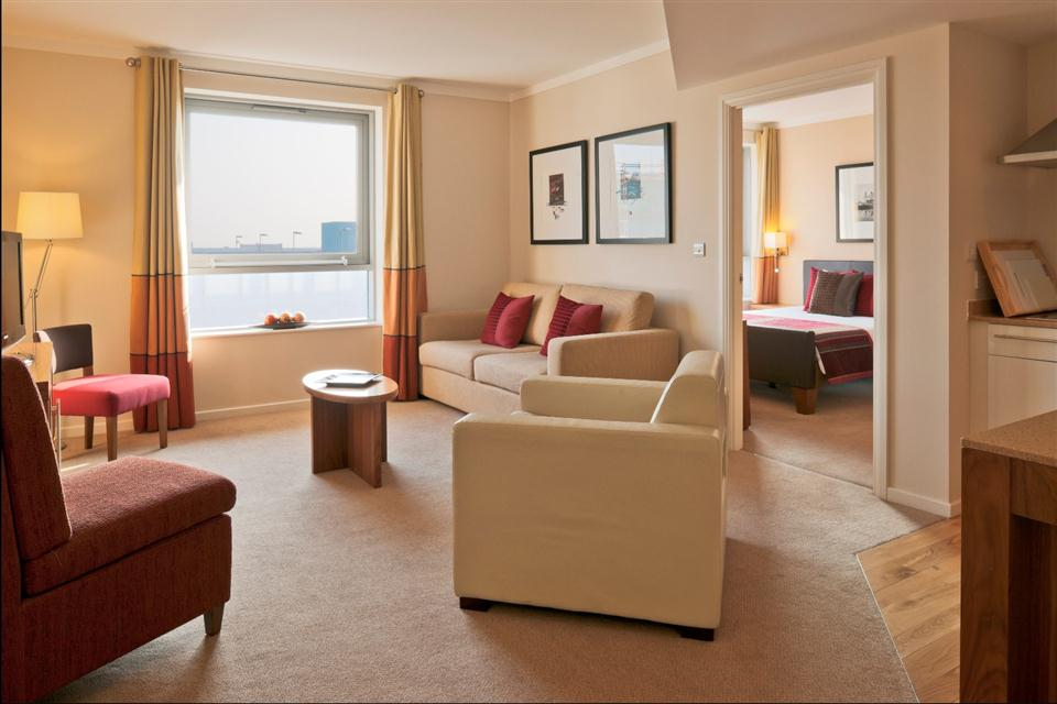 Staybridge Suites Liverpool -Living Room