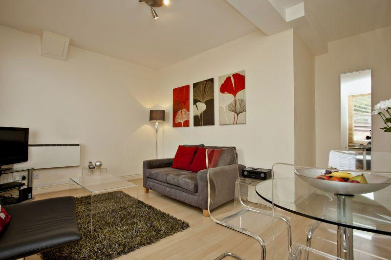 Chiltern Street Premium One Bedroom Apartment - Living Area