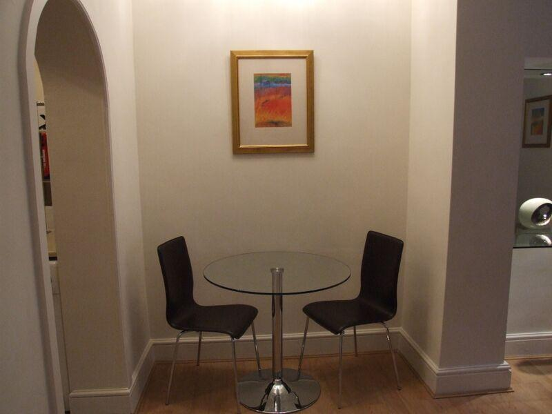 Chiltern Street Standard Deluxe One Bedroom Apartment - Dining Room