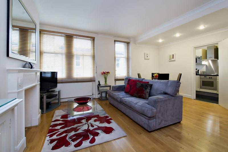 Chiltern Street Two Bedroom Apartment - Living Room