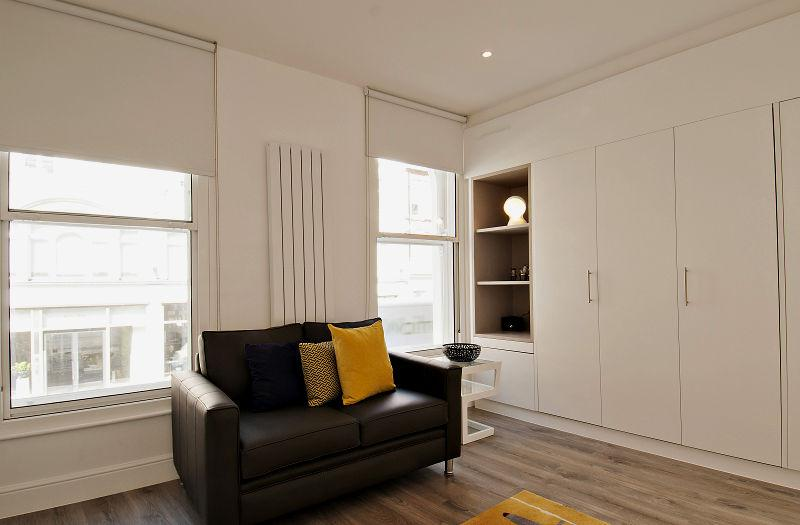 Wigmore Street Studios - Living Area